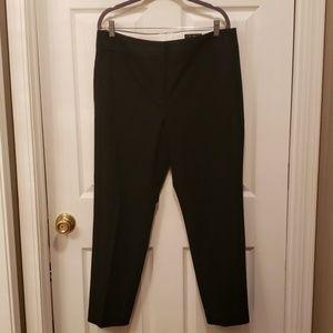 LOFT basic black trousers